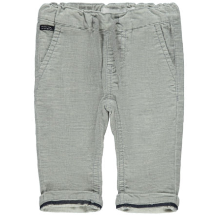 name it manšestrové kalhoty NBMROBIN Grey Melange