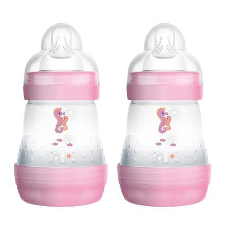 MAM dětská láhev Easy Start Anti-Colic růžová 160 ml