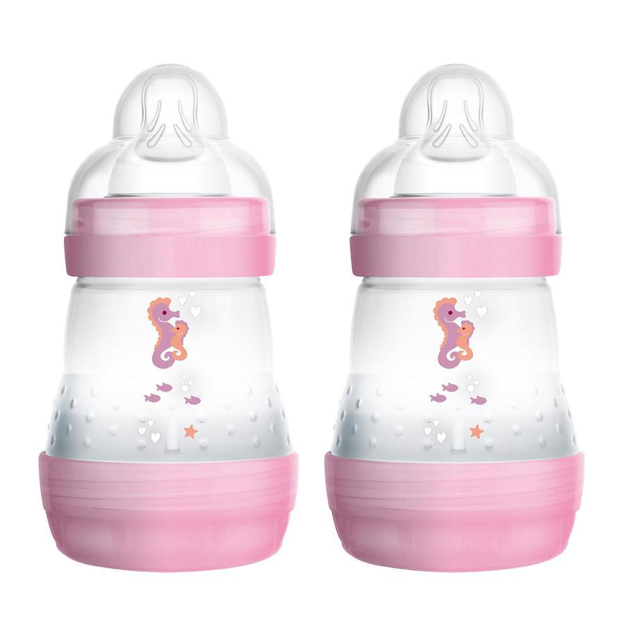 MAM Baby butelka Easy Start Anti-Colic różowy 160 ml