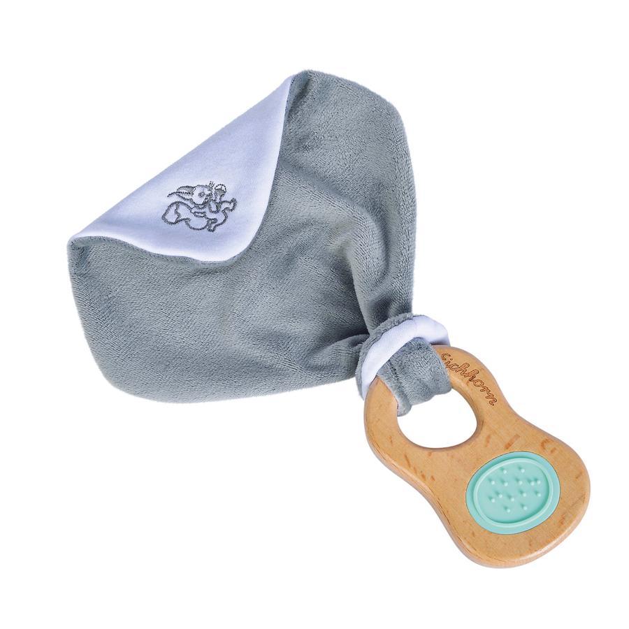 Eichhorn Baby Pure Greifling mit Schmusetuch