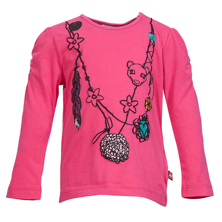 LEGO WEAR Duplo Girls Long Sleeve TYRA 703 pink