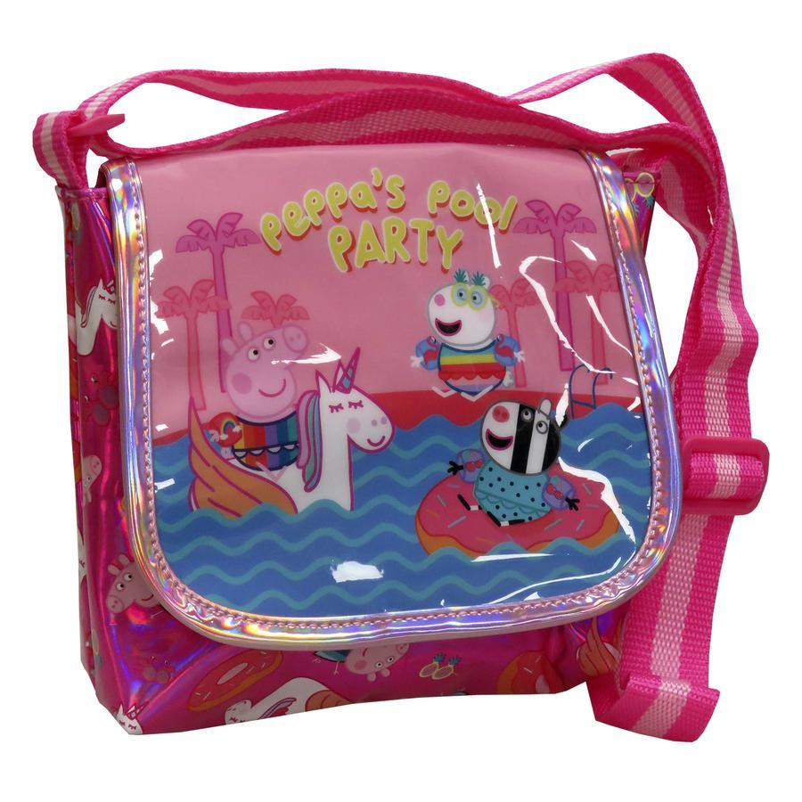 La bolsa de Peppa Pig de hombro...