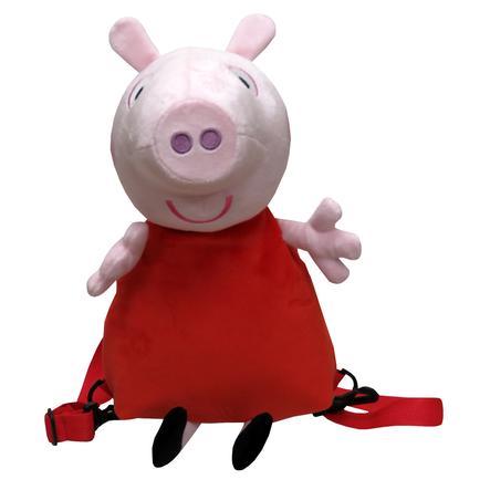 Peppa Pig 3D Plüsch Rucksack - Peppa