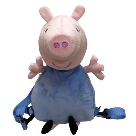 Peppa Pig 3D Plüsch Rucksack - George