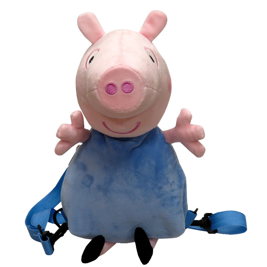 Mochila de felpa de Peppa Pig 3D - George