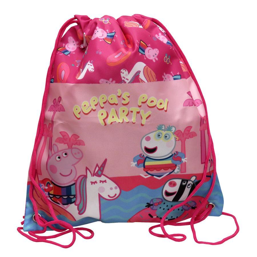 Bolsa de Cerdo Peppa con cordones
