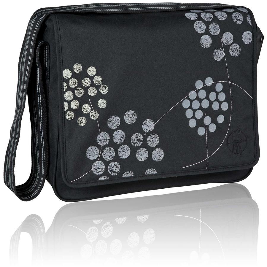 LÄSSIG Changing Bag Casual Messenger Bag Barberry black