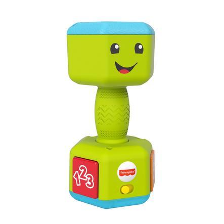 Fisher-Price® Lernspaß Baby Hantel mit Rassel, Licht und Geräuschen