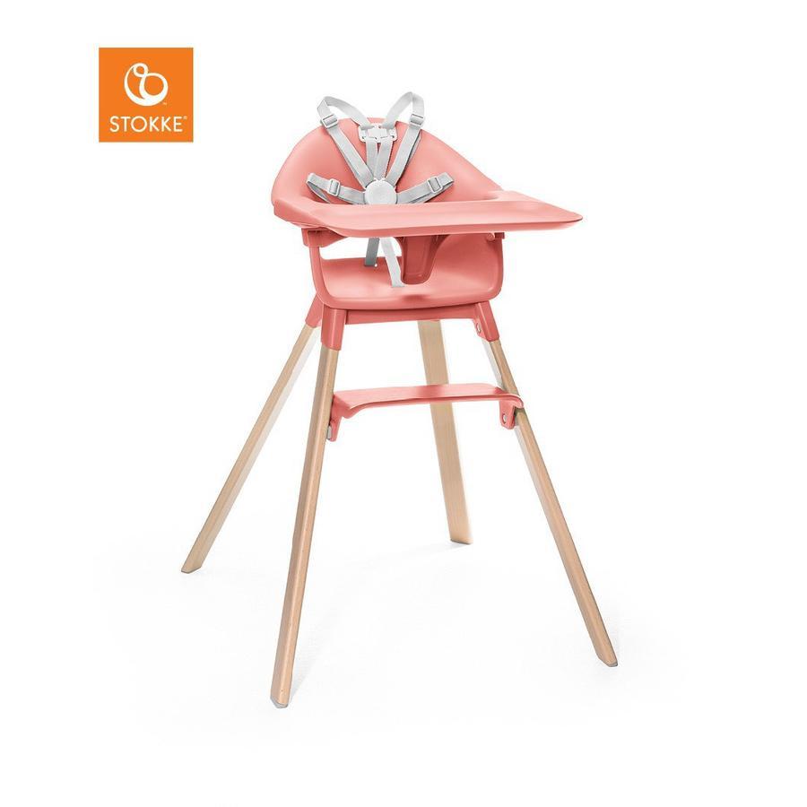 STOKKE® CLIKK™ Hochstuhl Sunny Coral