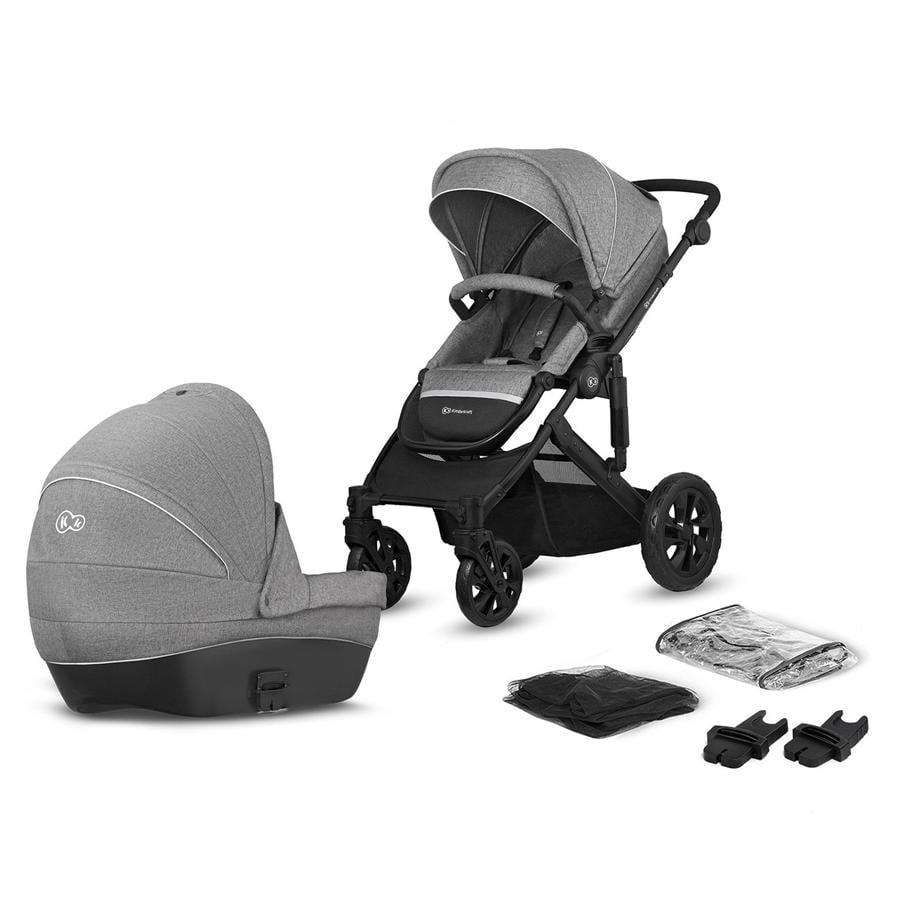 Kinderkraft Stroller Prime Lite 2 in 1 harmaa