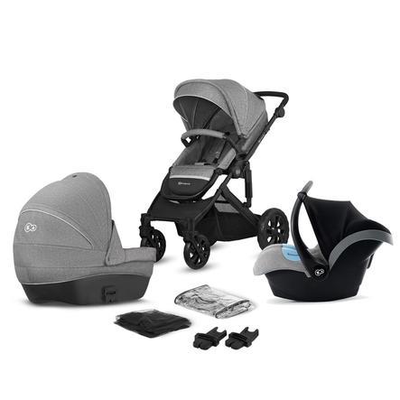 Kinderkraft Carro de bebé Prime Lite 3 en 1 Grey