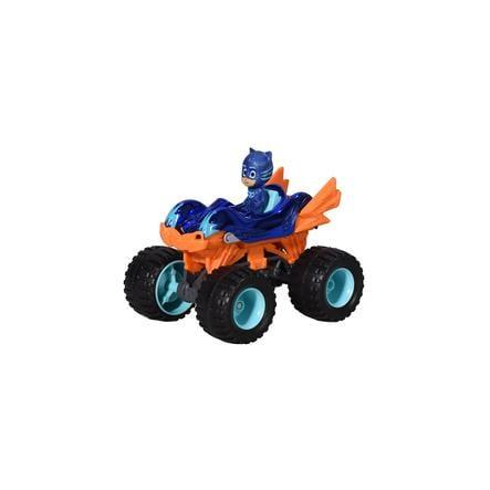 DICKIE Toys PJ -naamarit, yksi pakkaus kissa-auto Mega Wheelz