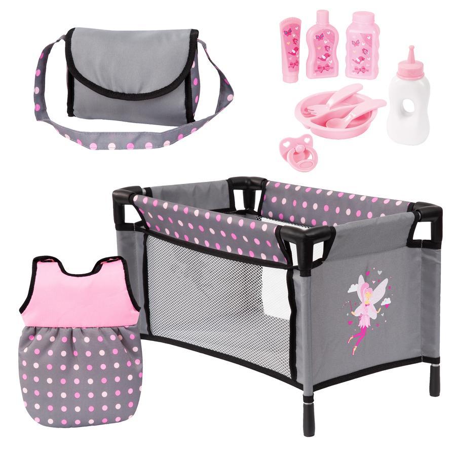 bayer Design Zubehör Set grau/rosa mit Fee