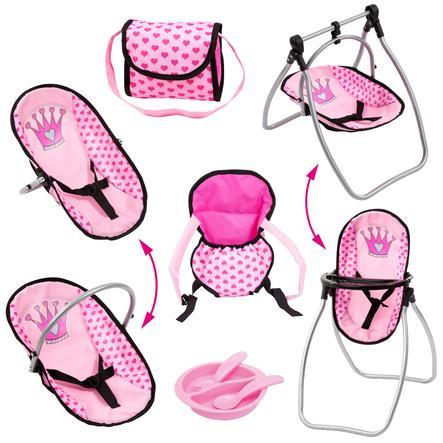 bayer Design Tilbehørssett rosa / rosa