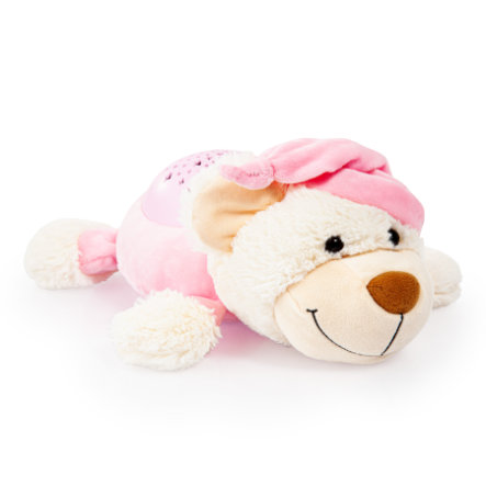 bayer Design Nachtlichttier Bär rosa
