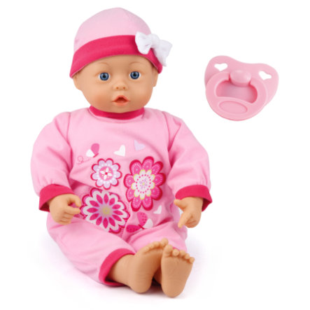 bayer Design Baby doll First Words Baby, 38 cm
