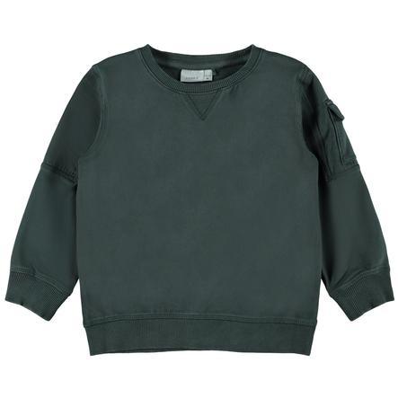 name it Sweatshirt NMMLARM Darkest Spruce