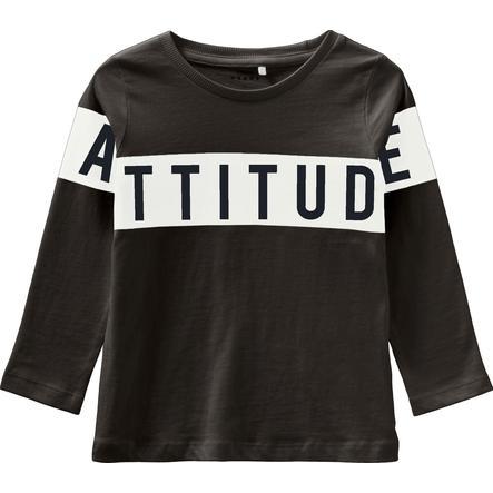 name it Långärmad skjorta NMMVIRTUS Svart