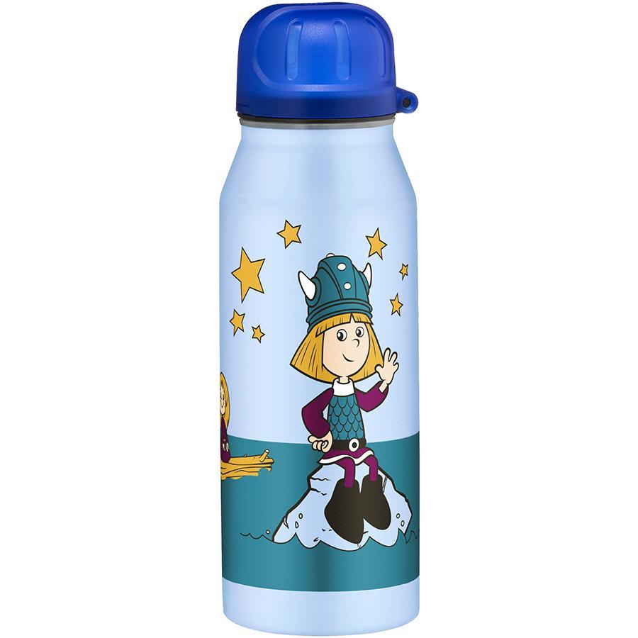 ALFI Trinkflasche isoBottle II aus Edelstahl 0,35l Design Wickie, weiß