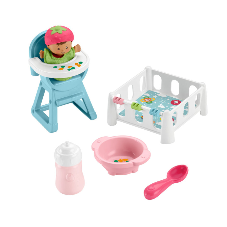 Fisher-Price  Little People Baby Snack & Sleep