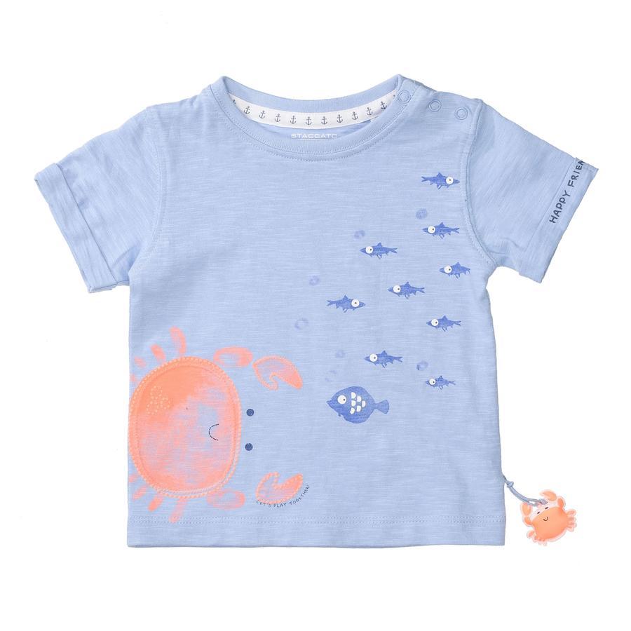 STACCATO  T-Shirt zacht ocean