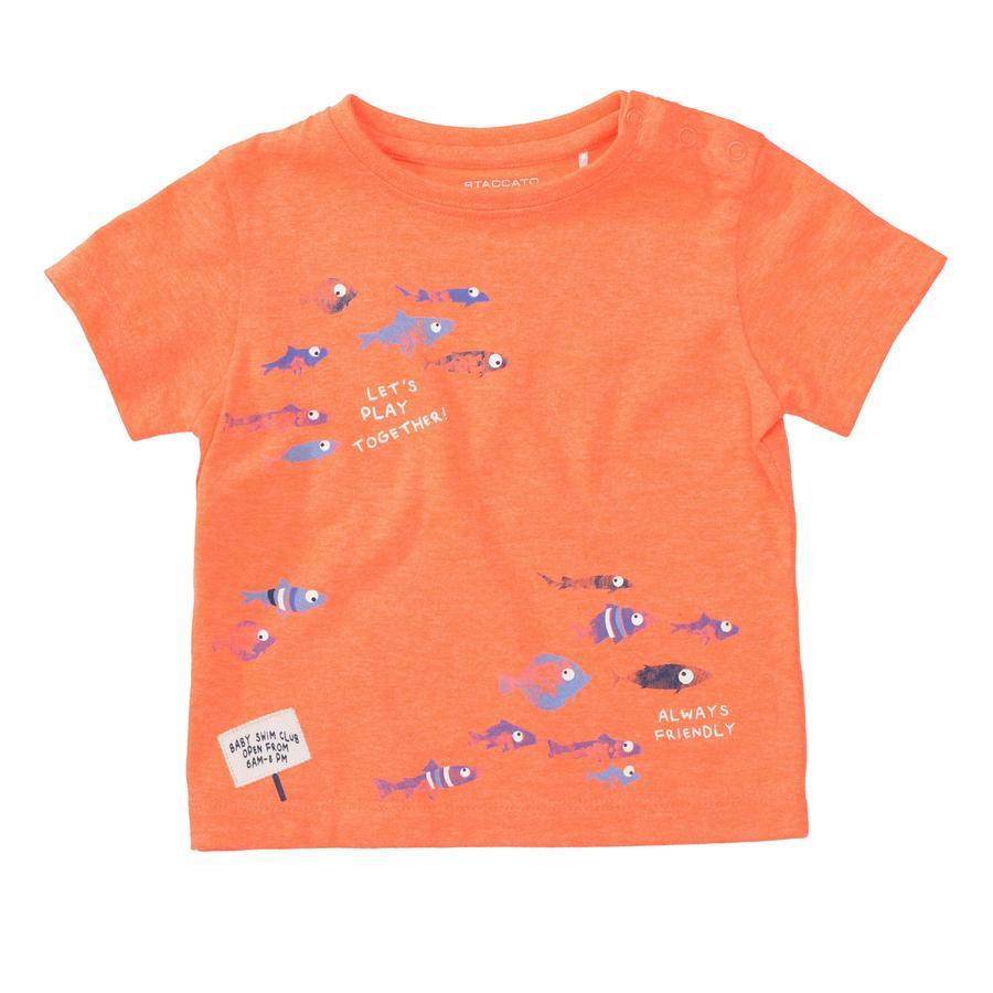 STACCATO  T-shirt néon feu