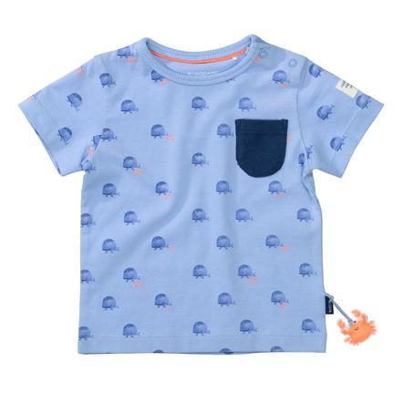 STACCATO T-Shirt soft ocean gemustert