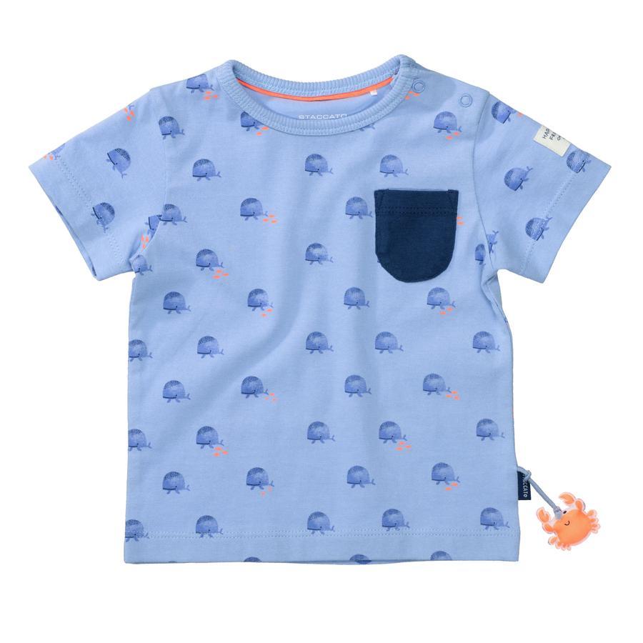 STACCATO T-skjorte mykt hav mønster