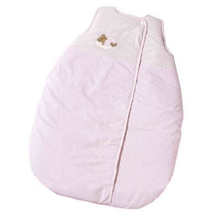 Easy Baby Schlafsack Molton 90cm Sleeping bear rose (451-82)