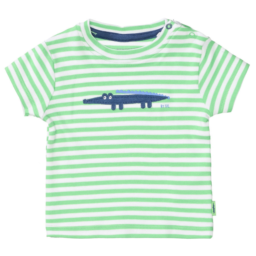 STACCATO T-Shirt bright Apple gestreift