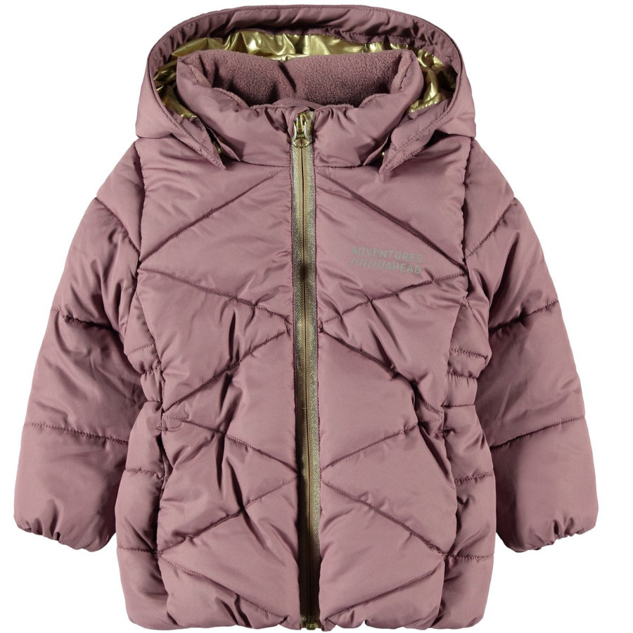 name it Girls Winterjacke NMFMILTON Wistful Mauve