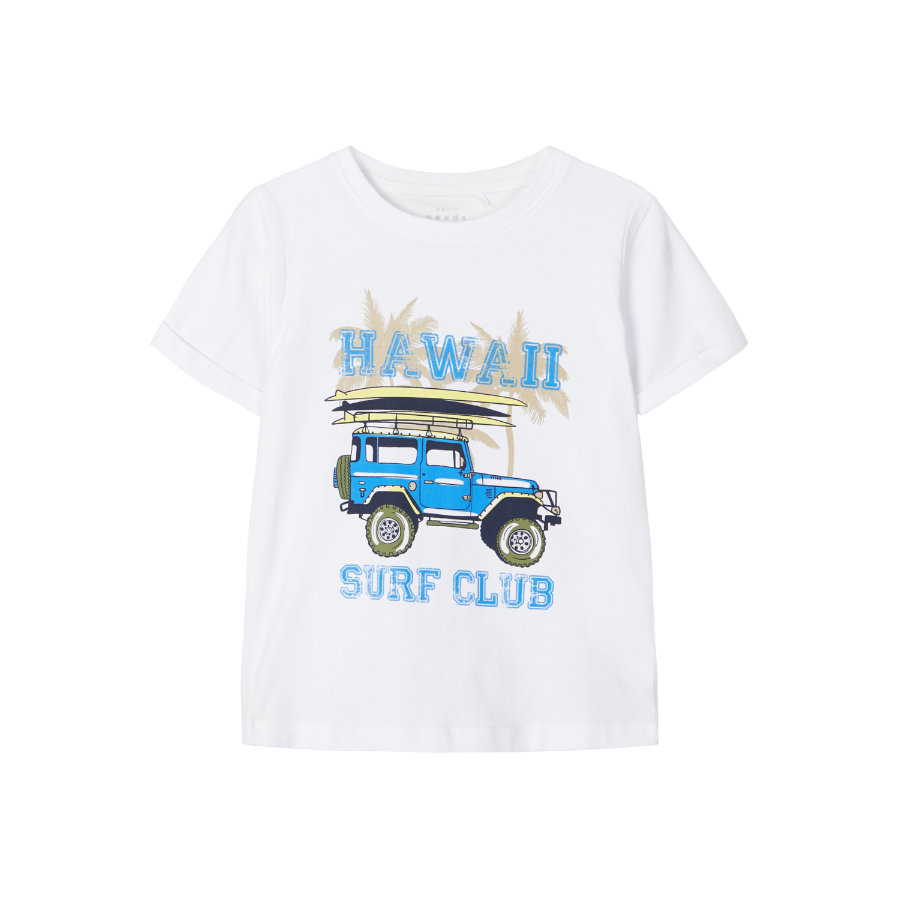 name it T-Shirt NMMVUX Bright White