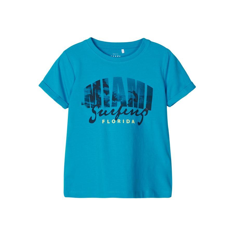 NAME IT T-skjorte NMMVUX Hawaiian Ocean