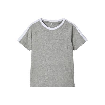name it T-Shirt NMMVASTI Grey Melange