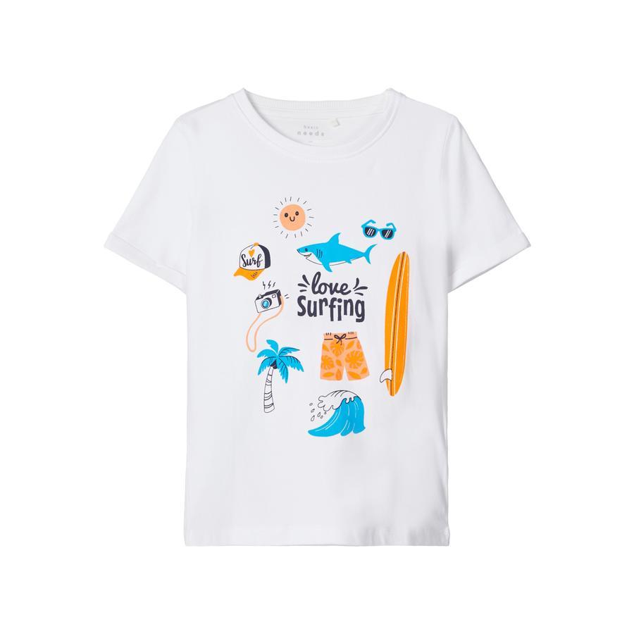 name it T-Shirt NMMVUX Bright White