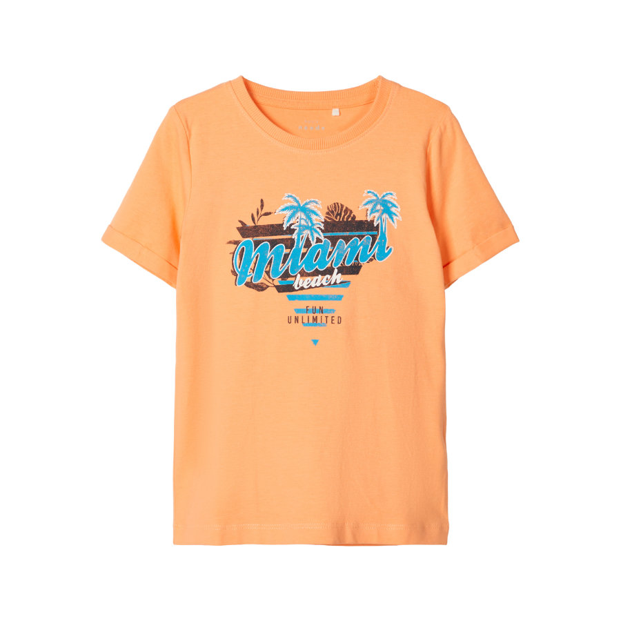 name it T-Shirt NMMVUX Canteloupe