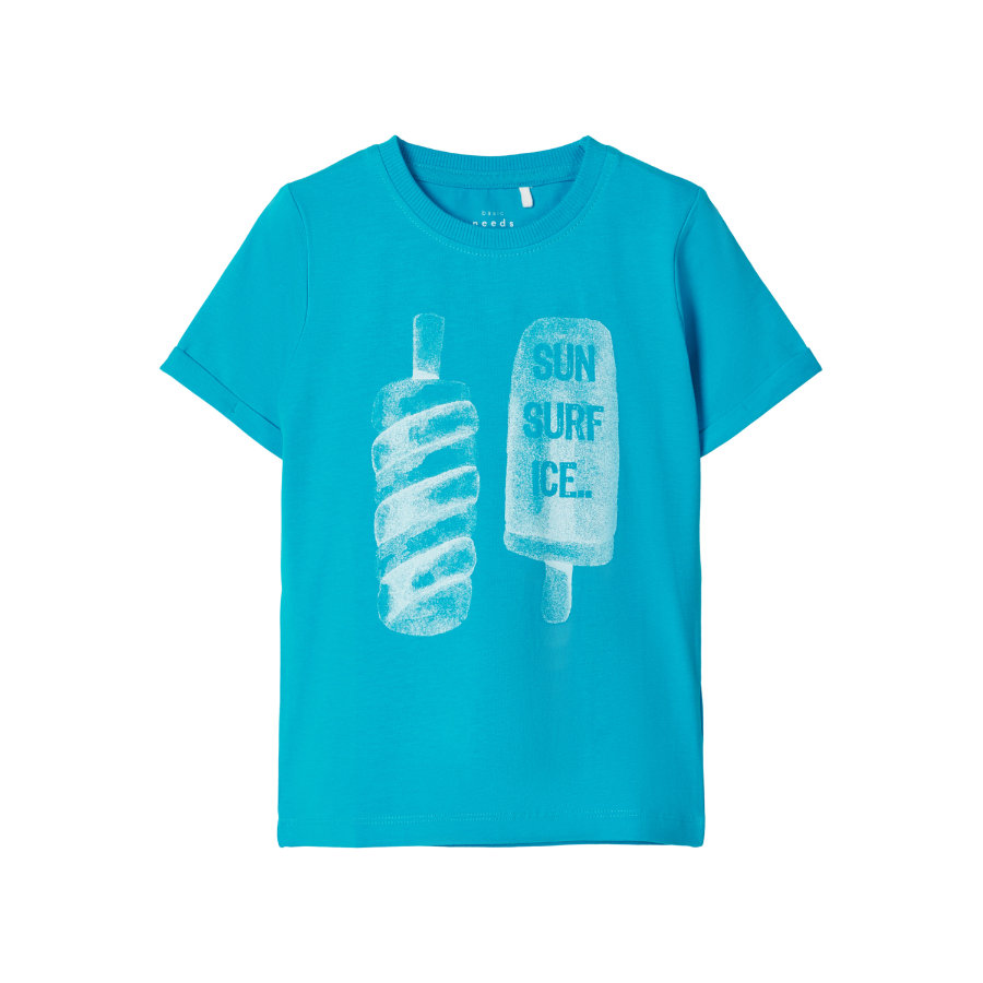 name it T-Shirt NMMVUX Hawaiian Ocean