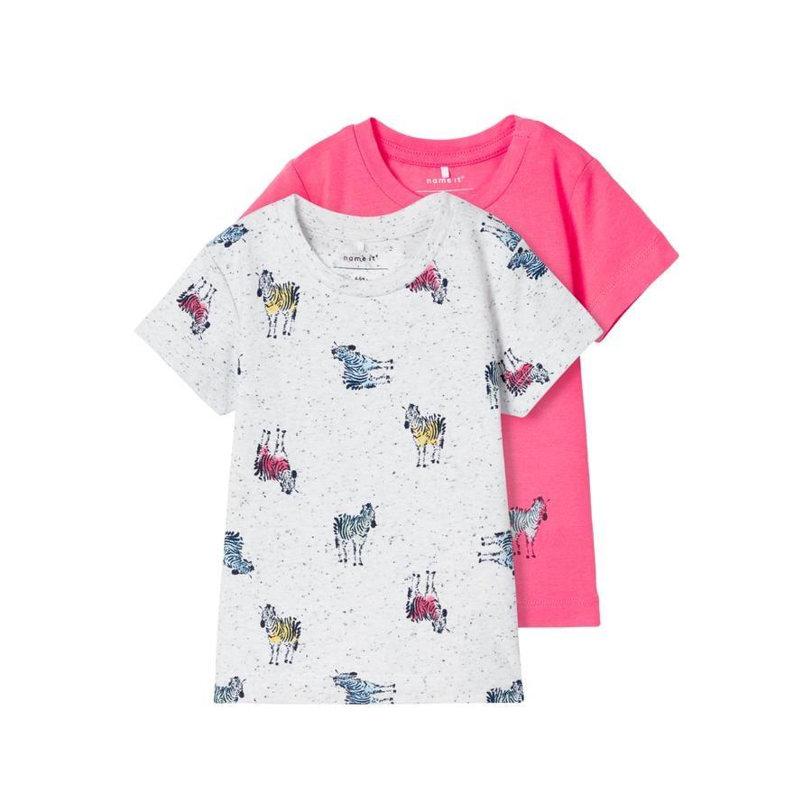 name it T-Shirt NBMJEFIKO Calypso Coral
