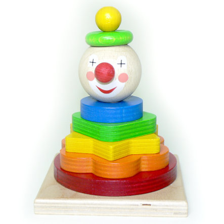 HESS Stapelturm - Clown