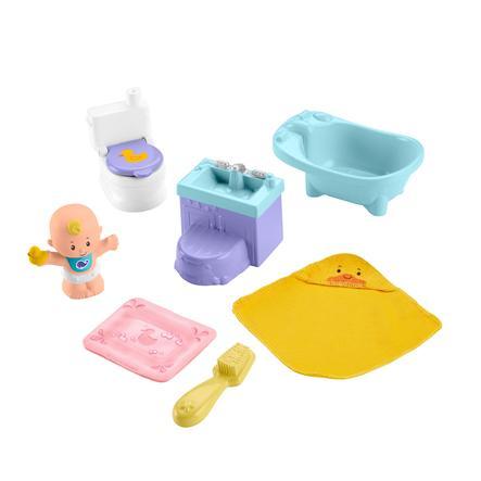 Fisher- Pris ® Little People Babybadetid