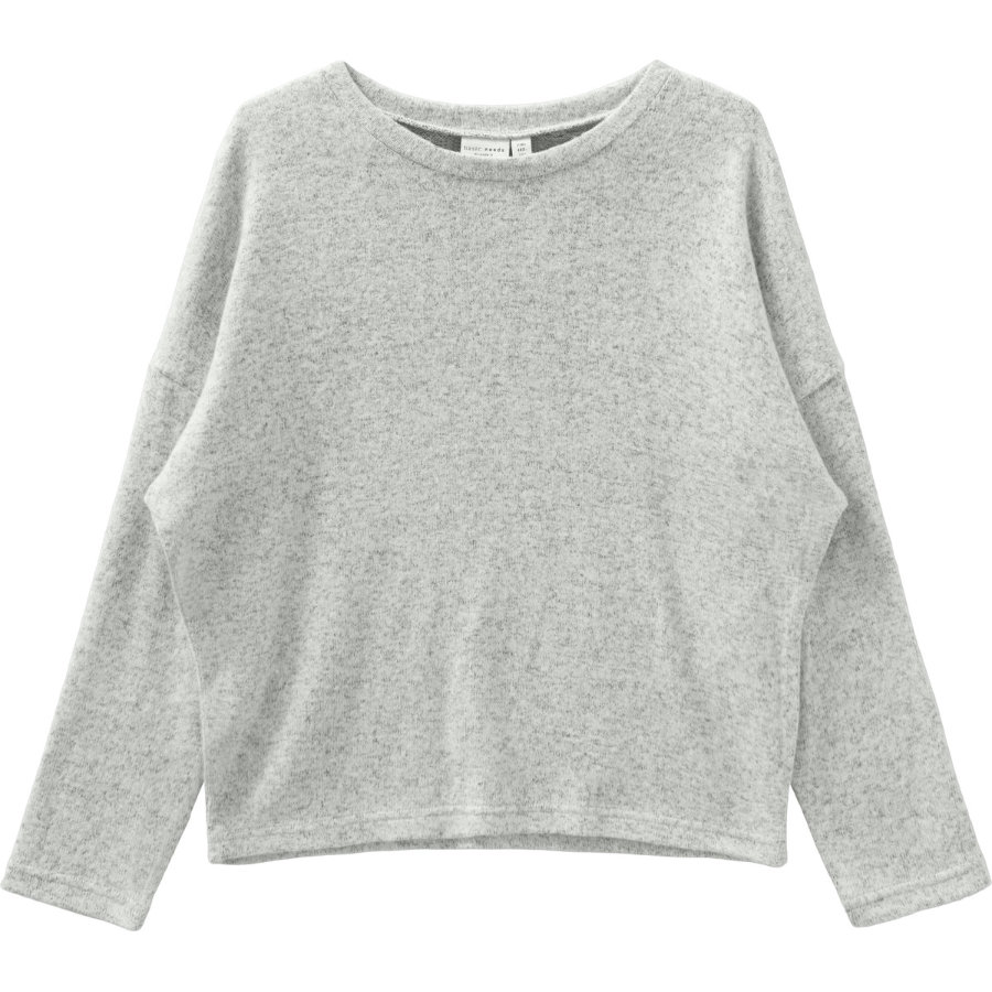 name it pletený svetr NMFVICTI Light Grey Melange