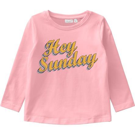 name it Langermet skjorte NMFVIX Coral Blush
