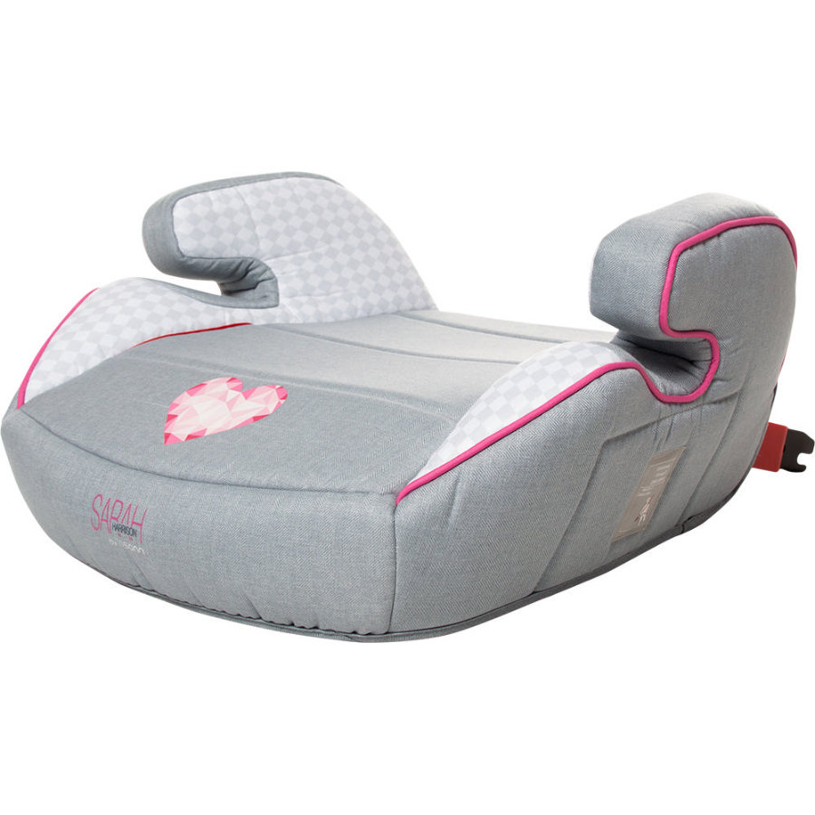 osann Kindersitz Junior Isofix Heart grau by Sarah Harrison