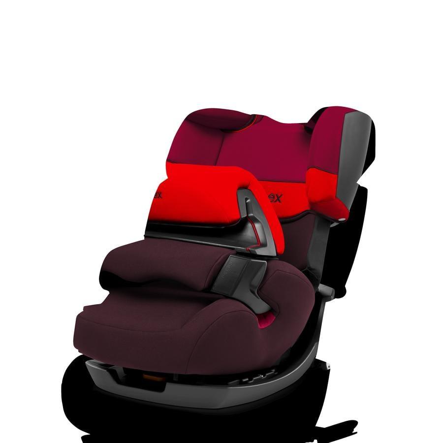 cybex SILVER Kindersitz Pallas-fix Rumba Red