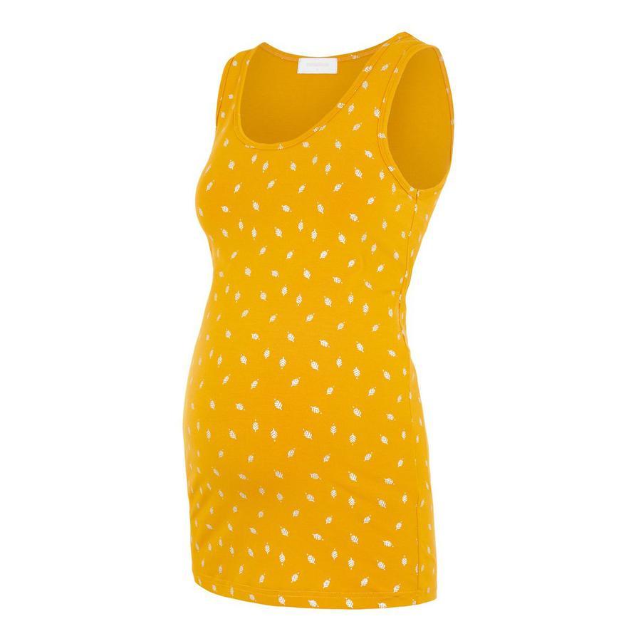 mama licious těhotenské šaty MLFOLEY Chinese Yellow
