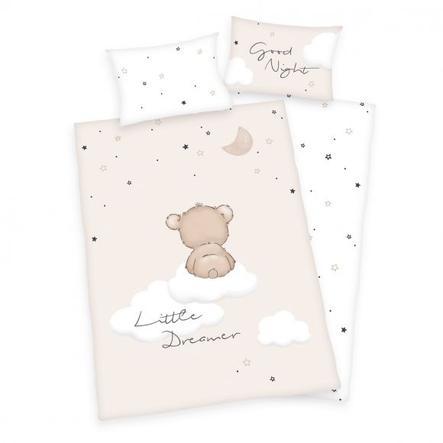 babybest® Parure de lit enfant flanelle Little Dreamer GOTS 100x135 cm