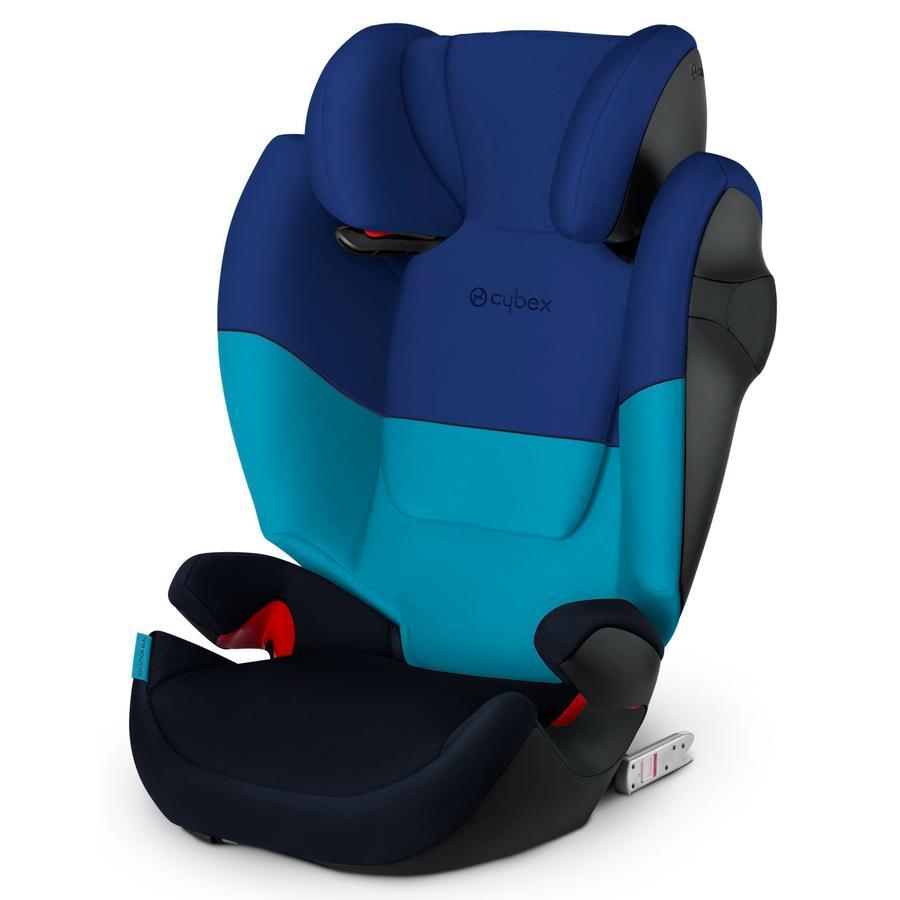 cybex SILVER Kindersitz Solution M-fix Blue Moon