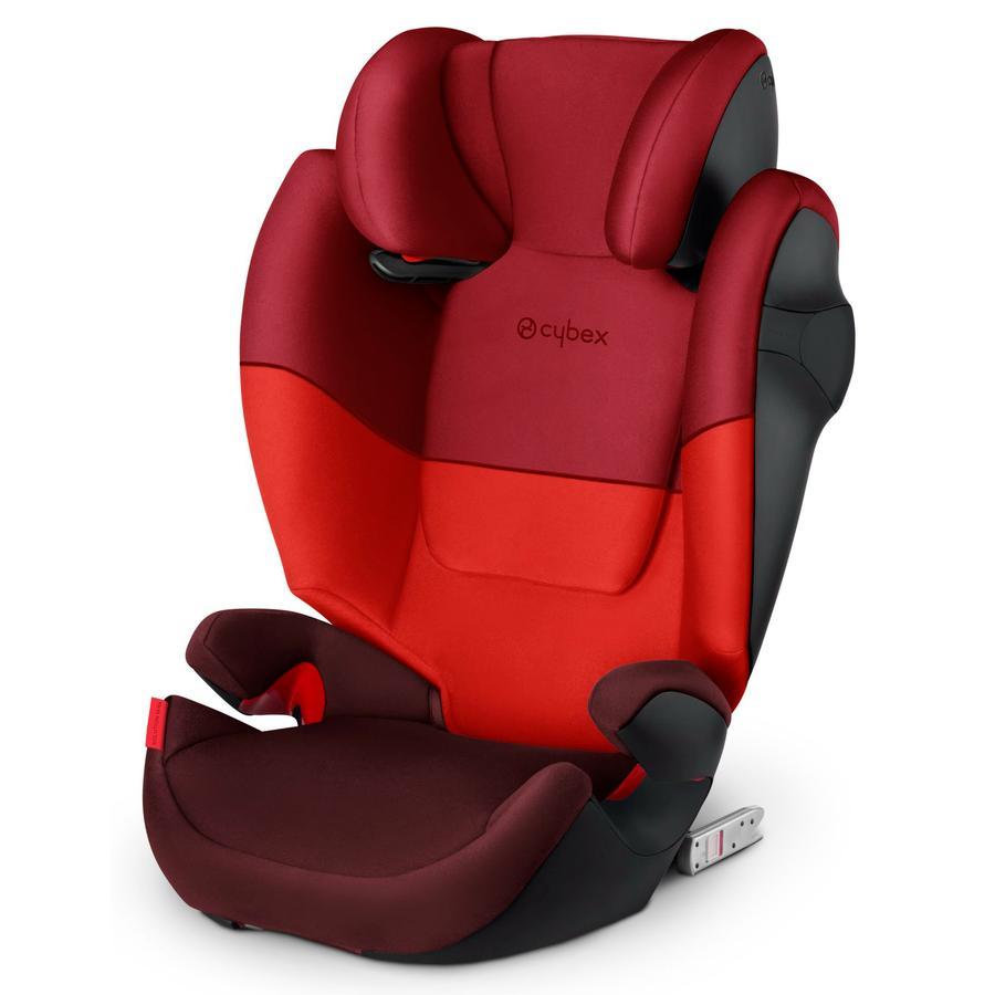 cybex SILVER Silla de coche Solution M-fix Rojo rumba