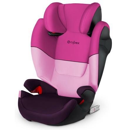 cybex SILVER Kindersitz Solution M-fix Purple Rain