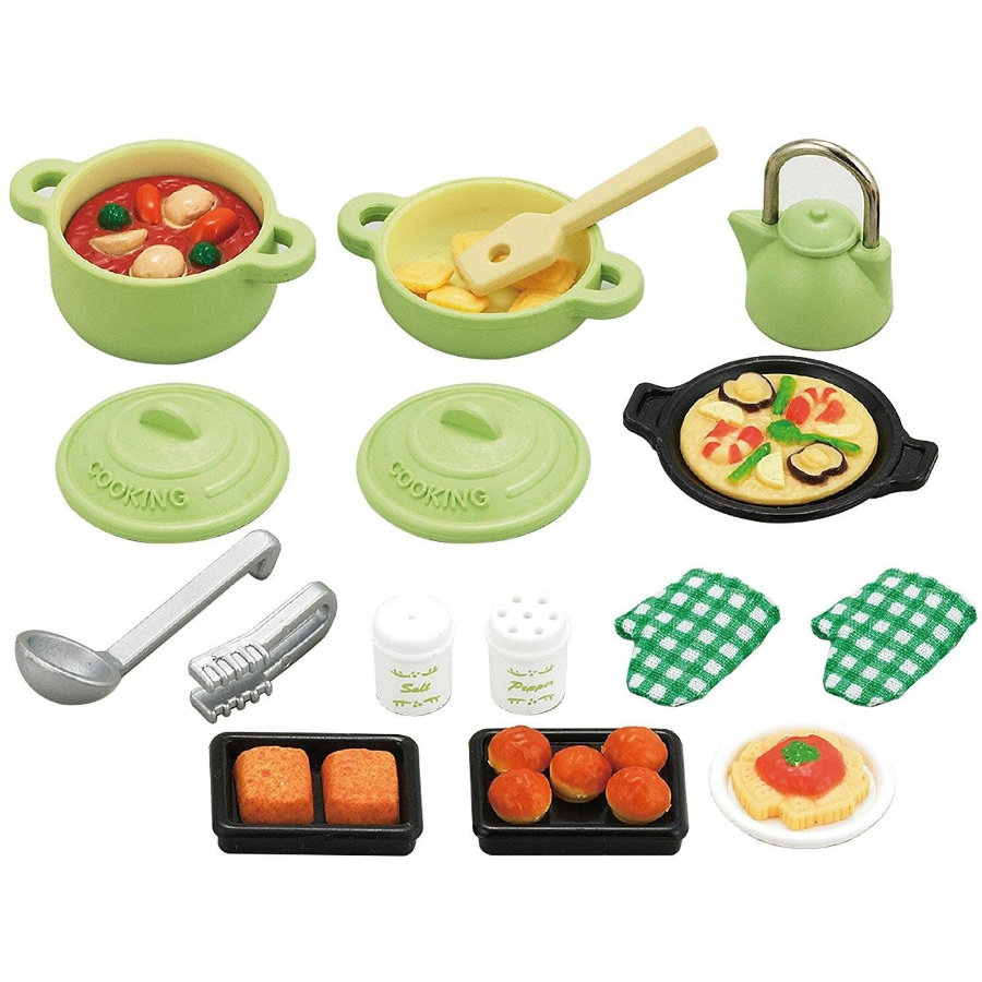 Sylvanian Families® Möbelset Küchen Koch-Set